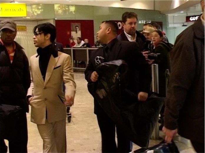 Prince at Heathrow