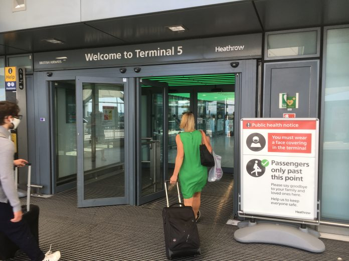 Heathrow terminal 5 door