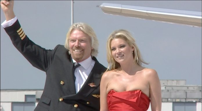 branson and kate moss